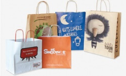 Bosses de paper impreses personalitzades ecològiques