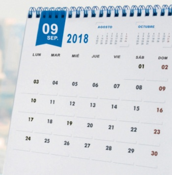 Calendaris 2018
