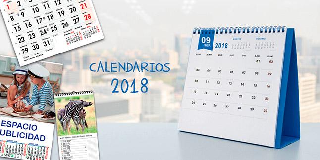<h1>Calendaris 2018</h1>
