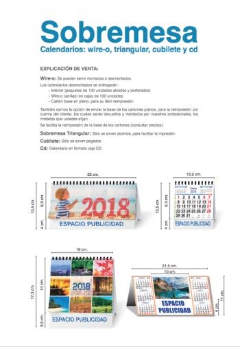 Calendaris de sobretaula