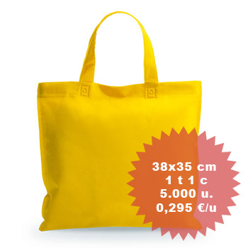 Bolsas no tejido impresas personalizadas reutilizables