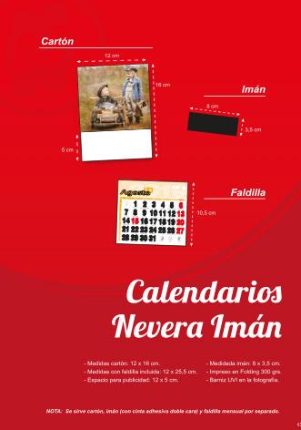 Calendaris estàndards amb imant
