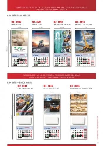 Calendaris personalitzats de paret i amb imant
