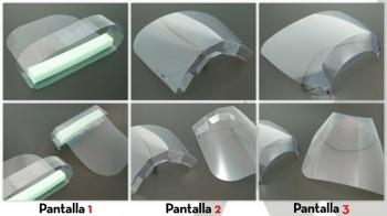 Pantalles de protecci� facials